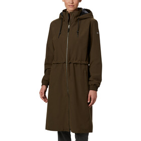 Columbia Firwood Giacca lunga Donna, olive green